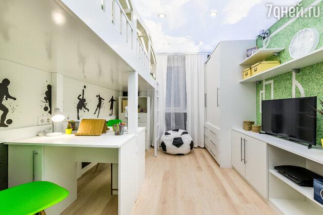 Идеи для дизайна: как рационально украсить комнату спортивного мальчика