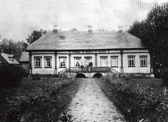 Так выглядел до революции фамильный дом Мироновых в Курьянове