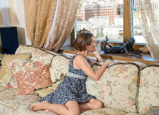 Из окон квартиры, расположенной на двенадцатом этаже, центр Москвы виден как на ладони