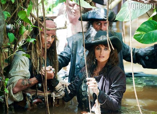 Пенелопа была беременна сыном во время съемок блокбастера «Пираты Карибского моря: На дальних берегах», и Джонни Депп всячески ее опекал