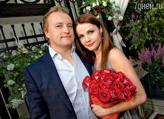 С мужем Денисом Трифоновым