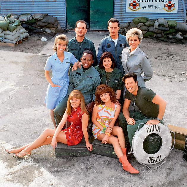 Актеры из сериала «Чайна-Бич»