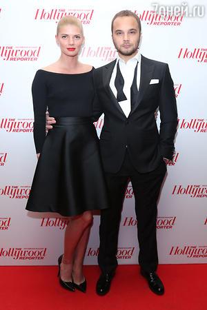 Андрей Чадов и Анастасия Задорожная на выставке «Легенды кино»