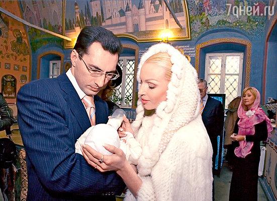 Крестины дочери Ариадны. Октябрь 2005 г.