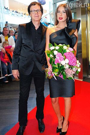 Кети Топурия и Владимир Миклошич на празднования 17-летия канала «МУЗ-ТВ»