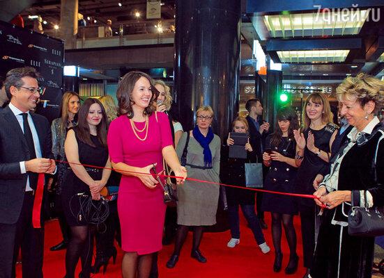 Открытие бутика в Москве