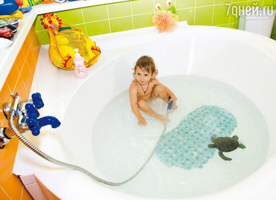 Детская ванна — на вырост