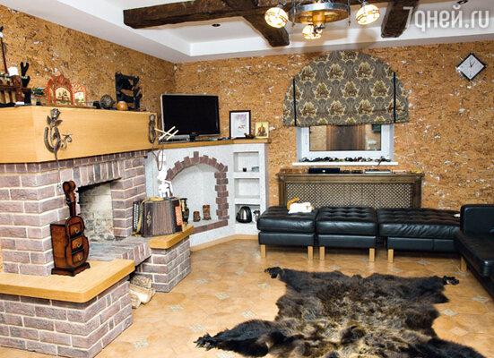 «Охотничья» комната — идеальное место для отдыха после бани
