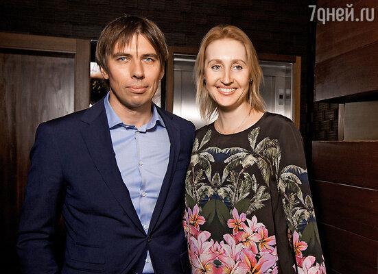 Оксана Бондаренко с мужем