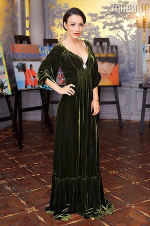 Виктория Дайнеко на гламурной вечеринке. 2012 г.