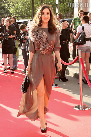 Виктория Дайнеко на церемонии вручения премии «Fashion People Awards». 2011 г.