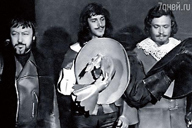 Георгий Юнгвальд-Хилькевич, Александр Абдулов и Георгий Мартиросян