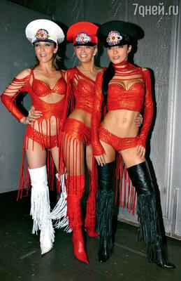 Группа «ВИА Гра» на вручении премии «Стопудовый хит». 2004 г.