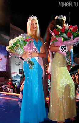 Как победительница регионального конкурса ездила на «Красу России». Выступила успешно, получила специальный титул