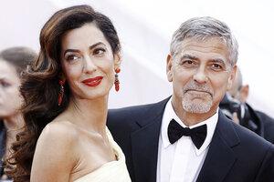 Жена запретила Джорджу Клуни встречаться с приятелями-собутыльниками
