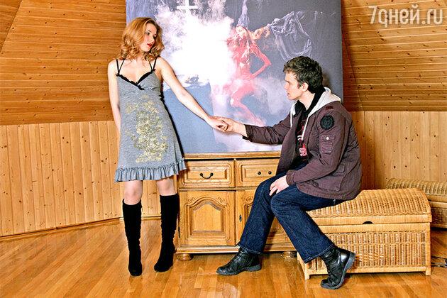 Владимир Епифанцев с женой