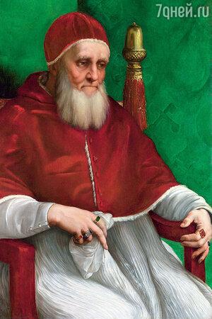 Портрет Папы Юлия II Работы Рафаэля, Национальная галерея, Лондон
