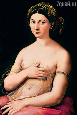 Картина «Форнарина» Рафаэля, Палаццо Барберини, Рим