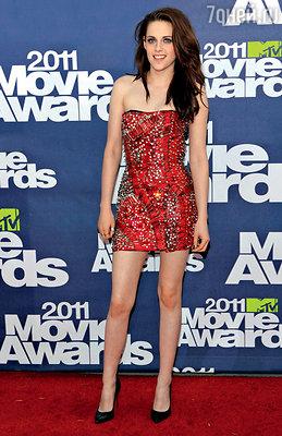 На церемонии «MTVMovie Awards». Лос-Анджелес, 2011 г.