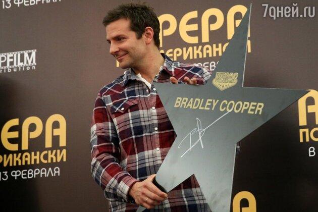 Брэдли Купер на пресс-конференции  в Москве