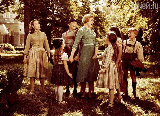 Кадр из фильма «Звуки музыки», 1965 год