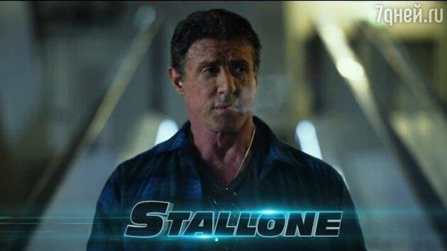 Сильвестр Сталлоне в боевике «Неудержимые 3»
