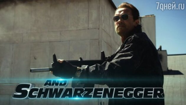 Арнольд Шварценеггер в боевике «Неудержимые 3»