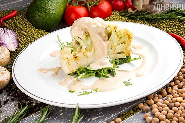 Цветная капуста под ореховым соусом: рецепт постного блюда от шеф-повара Андрея Иванова