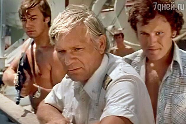 Петр Вельяминов с Николаем Еременко в фильме «Пираты XXвека». 1979 г.