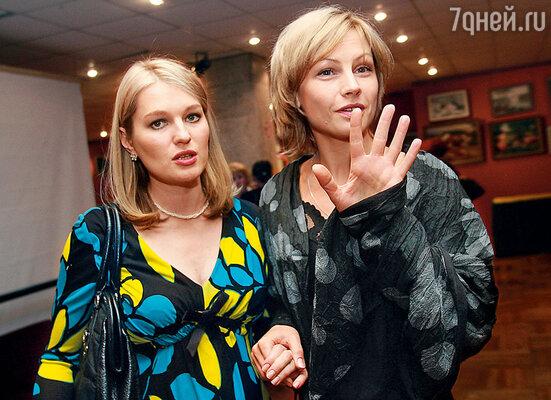 В картине «Подари мне жизнь» у Дениса были две роскошные партнерши — Алена Бабенко  и Вика Толстоганова