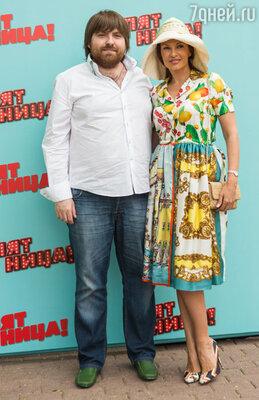 Эвелина Блёданс с супругом Александром