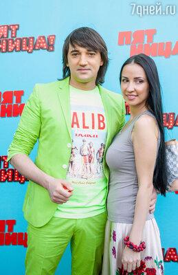 Николай Тимофеев со своей девушкой Кристиной