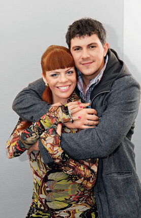 Анастасия Стоцкая и Алексей Секирин