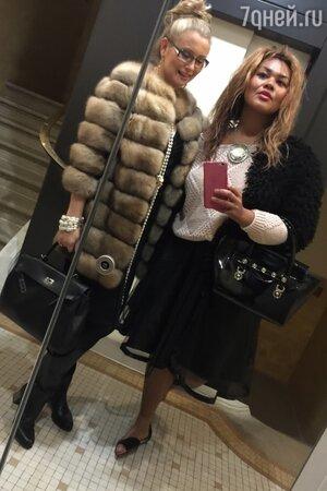 Лена Ленина и Корнелия Манго