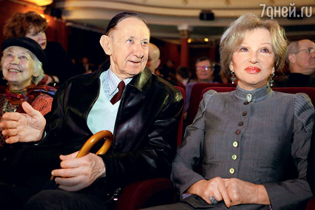 Глеб Скороходов и Людмила Гурченко. 2009 г.