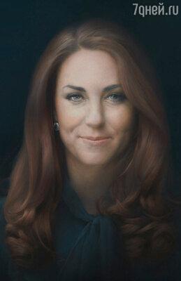 портрет герцогини Кембриджской