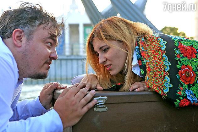 Роман Бурцев и Лера Любарская