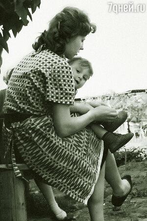 Сергей Гинзбург с мамой