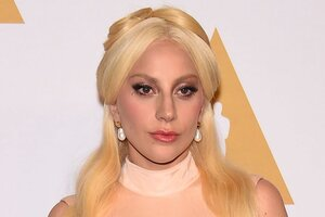Леди Гага расплакалась на ежегодном ужине номинантов «Оскар-2016»