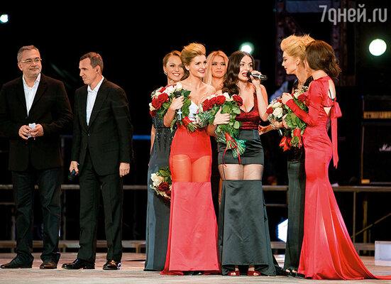 Мы победили! Финал конкурса «Хочу в «ВИА Гру»!». С Мишей Романовой, Эрикой Герцег и Настей Кожевниковой