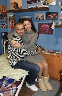 Валентина Рубцова с мужем Артуром