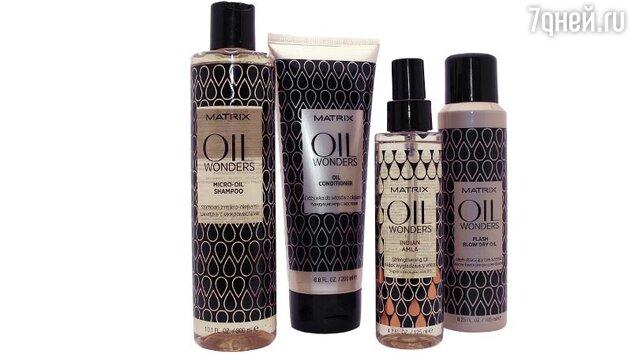 Линия ухода за волосами на основе масел Oil Wonders от Matrix