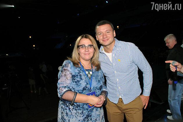 Александр Олешко и  Елена Пинджоян
