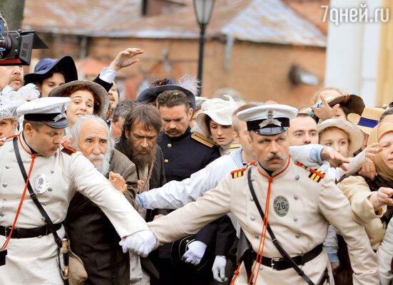 В Петербурге Распутина не сразу приняли с распростертыми объятиями