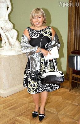 На церемонии вручения премии «Хрустальная Турандот». 2007 г.