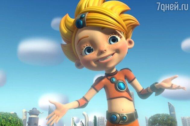 Главная героиня мультфильма «Алиса знает, что делать!»