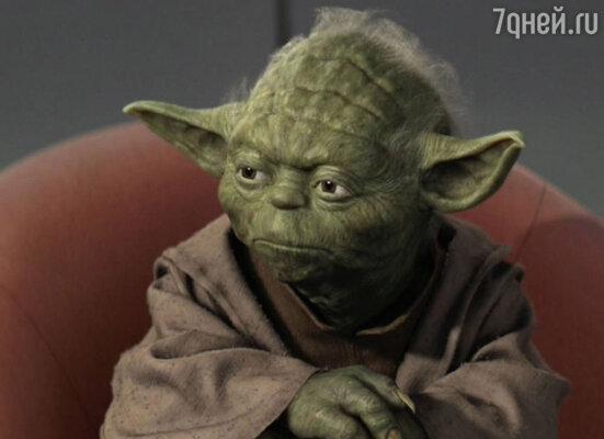 Глубокомысленное выражение лица для зеленого мудреца Йоды в своих «Звездных войнах» Лукас позаимствовал у Эйнштейна!