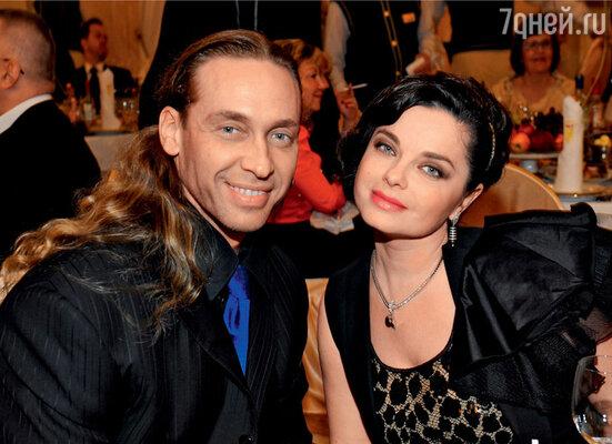 Наталья Королева с мужем Сергеем Глушко