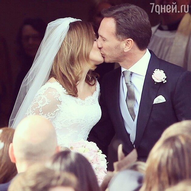 Свадьба Джери Холлиуэлл