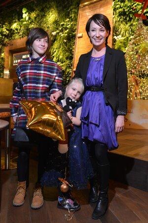 Чулпан Хаматова с дочерьми Асей и Ией